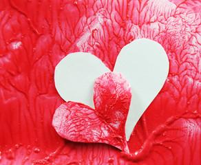 Heart transplant concept