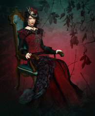 Lady Vlada Portrait