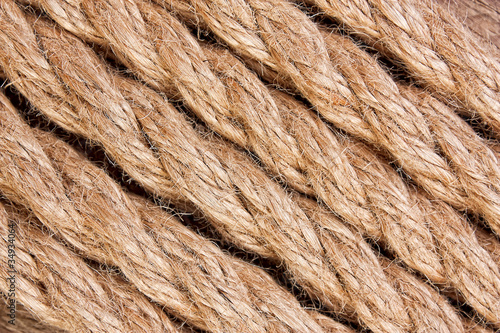 texture of the ropes