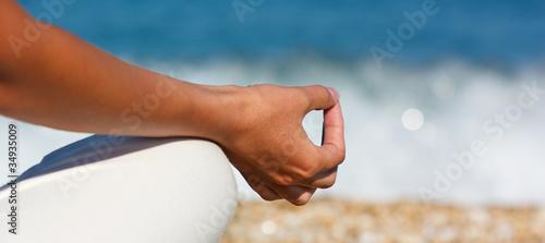 Yoga hand - 34935009
