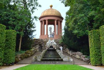 Schlosspark Schwetzingen Apollotempel
