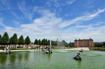Schlosspark Schwetzingen Brunnenanlage