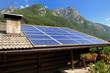 Tetto fotovoltaico in montagna - Trentino Alto Adige