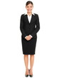 Business people - business woman standing