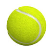 Tennis ball isolated on white - 3d render - 34942490