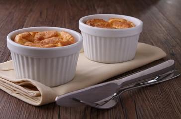 soufflé pomme de terre/ fromage