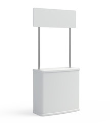 Blank promotion counter