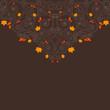 spiral Orange Background