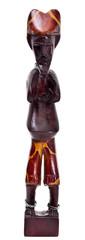 Wooden african figurine