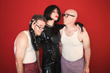 Dominatrix with Two Men