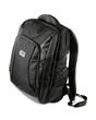 New closed black backpack