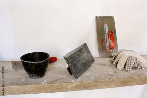 Werkzeuge für Trockenbau