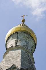 Orthodox cross on cupola