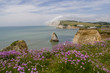 canvas print picture - Freshwater bay auf der Isle of Wight