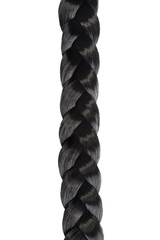 long black hair braid