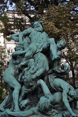 Statue le triomphe de Silène