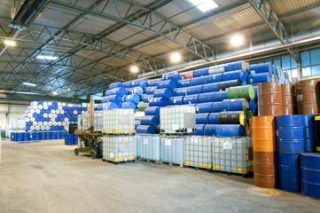 industry depot // Lagerung von Industrie Material