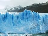 Glacier bleu en patagonie