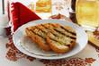 Pan tostado con aceite virgen extra
