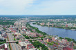 Boston aerial and Charles River
