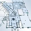 interion-input level in public building, vector