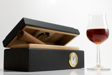 Puro y Cognac