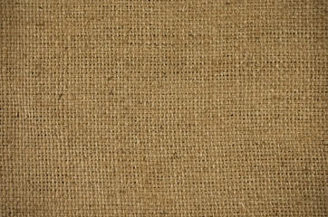 background of burlap natural sacking