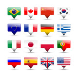 Flags icons that speak