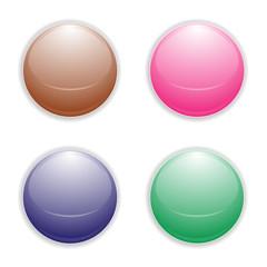 Logo, picto, boule, bouton, rond, globe, cercle, sphère