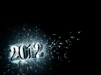 2012 in broken glass