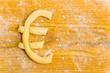 Eurozeichen als Plätzchen