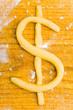 Dollarzeichen als Plätzchen