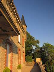 Château de Taste ; Village de Sainte-Croix-du-Mont ; Aquitaine