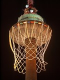 Biggest basket in the world on TV tower. poster