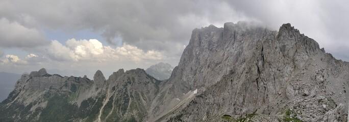 Trogkofel in den Karnischen Alpen