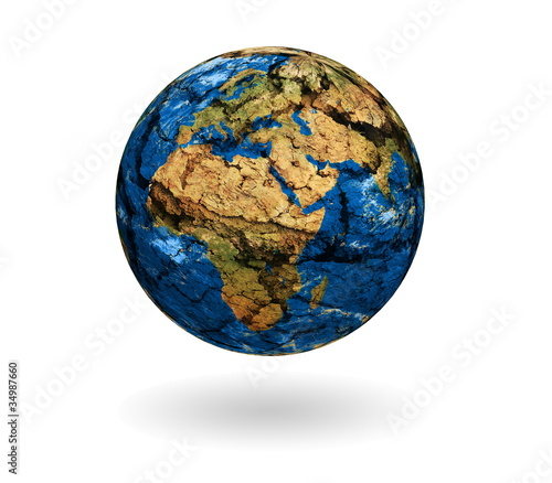 Plexiglas Fin du monde.