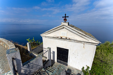 Corsica: Nonza, piccola cappella sul mare
