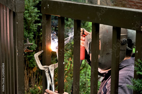 Welder with torch