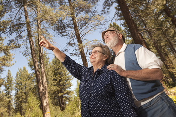 Adventurous Senior Couple Enjoying the Outdoors