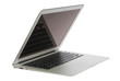 Modern popular laptop thin and light with clipping path