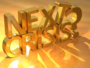 Next Crisis Gold Text