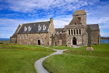 Iona Abbey, Inner Hebrides, Scotland