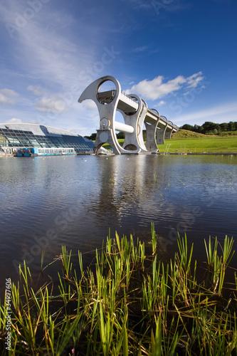 Falkirk Wheel Boat Lift, Scotland - 34997606