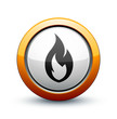 icône feu