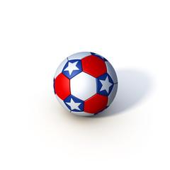 Soccer Fußball USA Stars Stripes