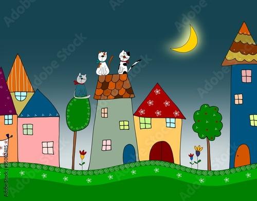 Fototapety, obrazy : Illustration for children