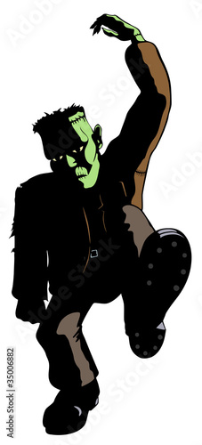 Frankenstein's Monster Dances : Fotolia