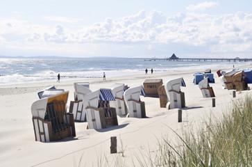 Sommermorgen Usedom Strand