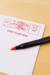 Sending First Class Mail