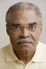 Close up of African man